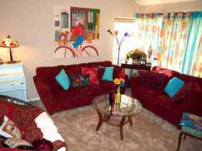 Modern bohemian living room decor ideas (65)