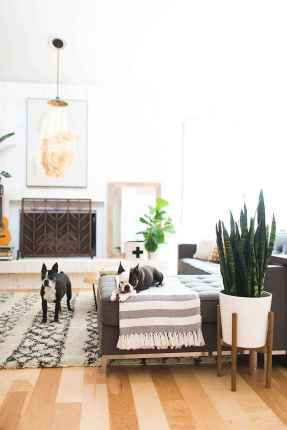 Modern bohemian living room decor ideas (78)
