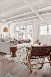 Modern bohemian living room decor ideas (86)