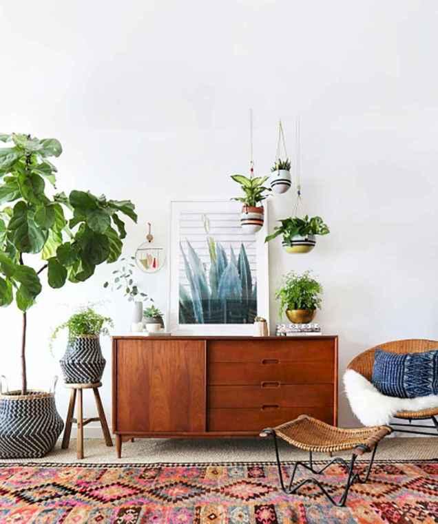 Modern bohemian living room decor ideas (95)