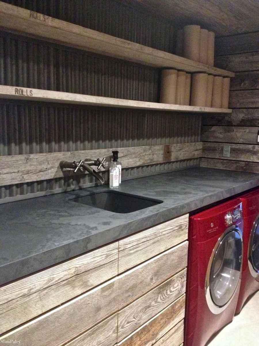 Modern farmhouse laundry room ideas (37)