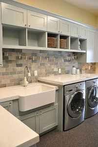 Modern farmhouse laundry room ideas (38)