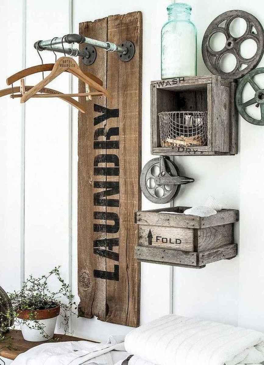 Modern farmhouse laundry room ideas (43)