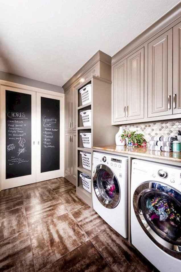 Modern farmhouse laundry room ideas (65)