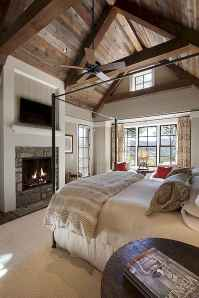 Modern farmhouse style master bedroom ideas (51)