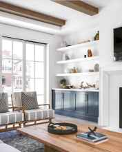 Rustic modern farmhouse living room decor ideas (2)