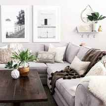 Rustic modern farmhouse living room decor ideas (42)