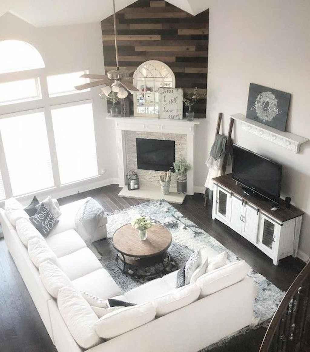85 Cozy Modern Farmhouse Living Room Decor Ideas: 03 Cozy Modern Farmhouse Living Room Decor Ideas