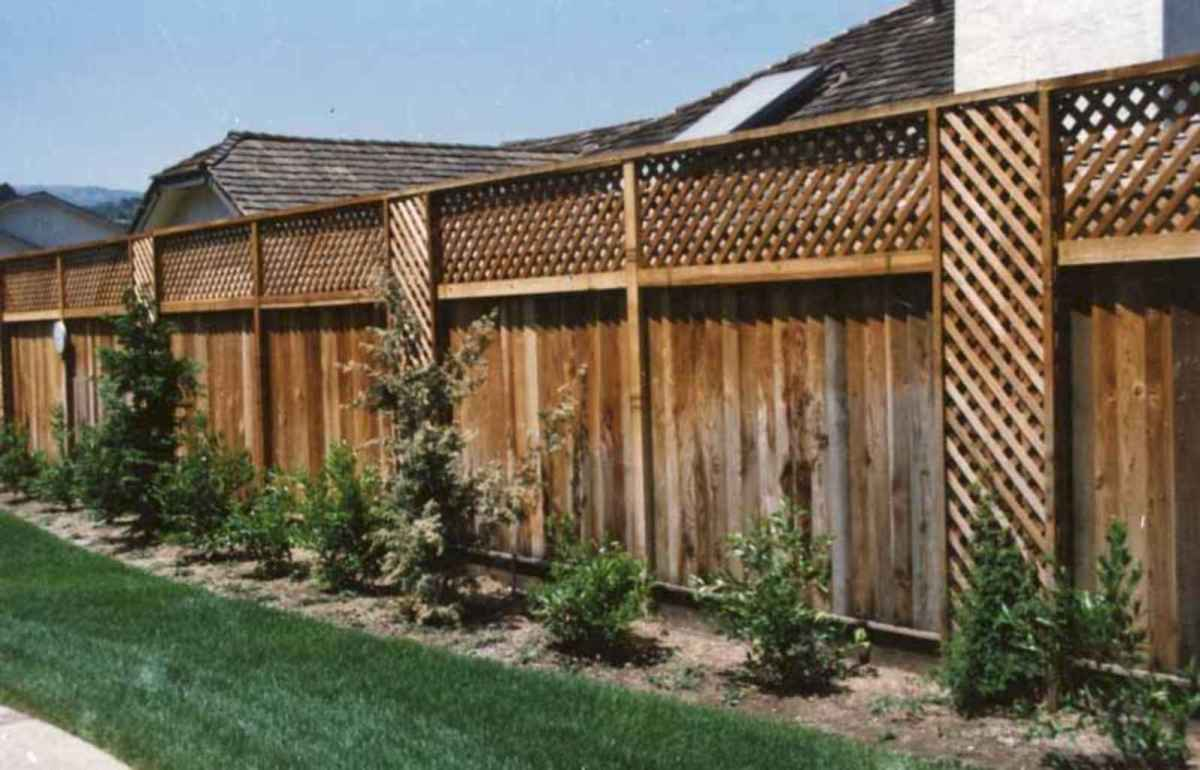 03 easy cheap backyard privacy fence design ideas