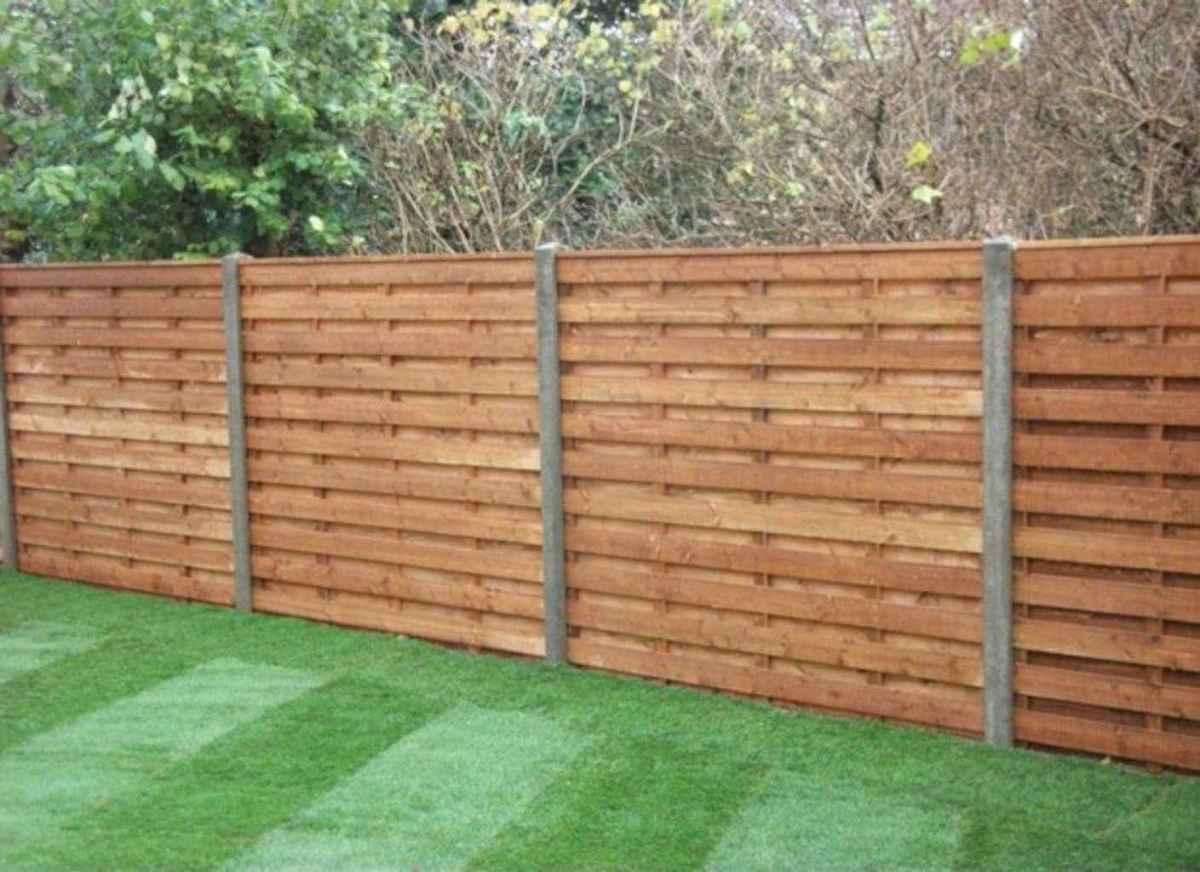 07 easy cheap backyard privacy fence design ideas