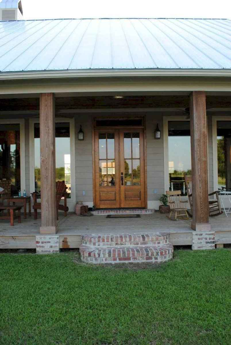 08 modern farmhouse front porch decorating ideas