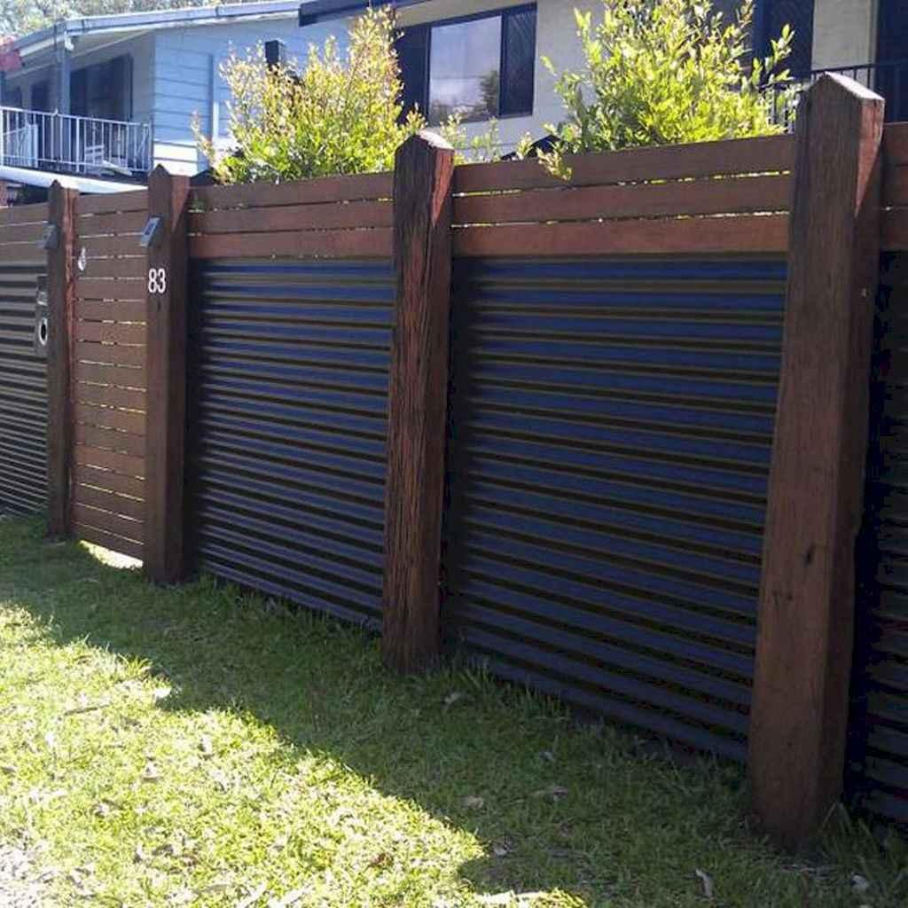 10 easy cheap backyard privacy fence design ideas
