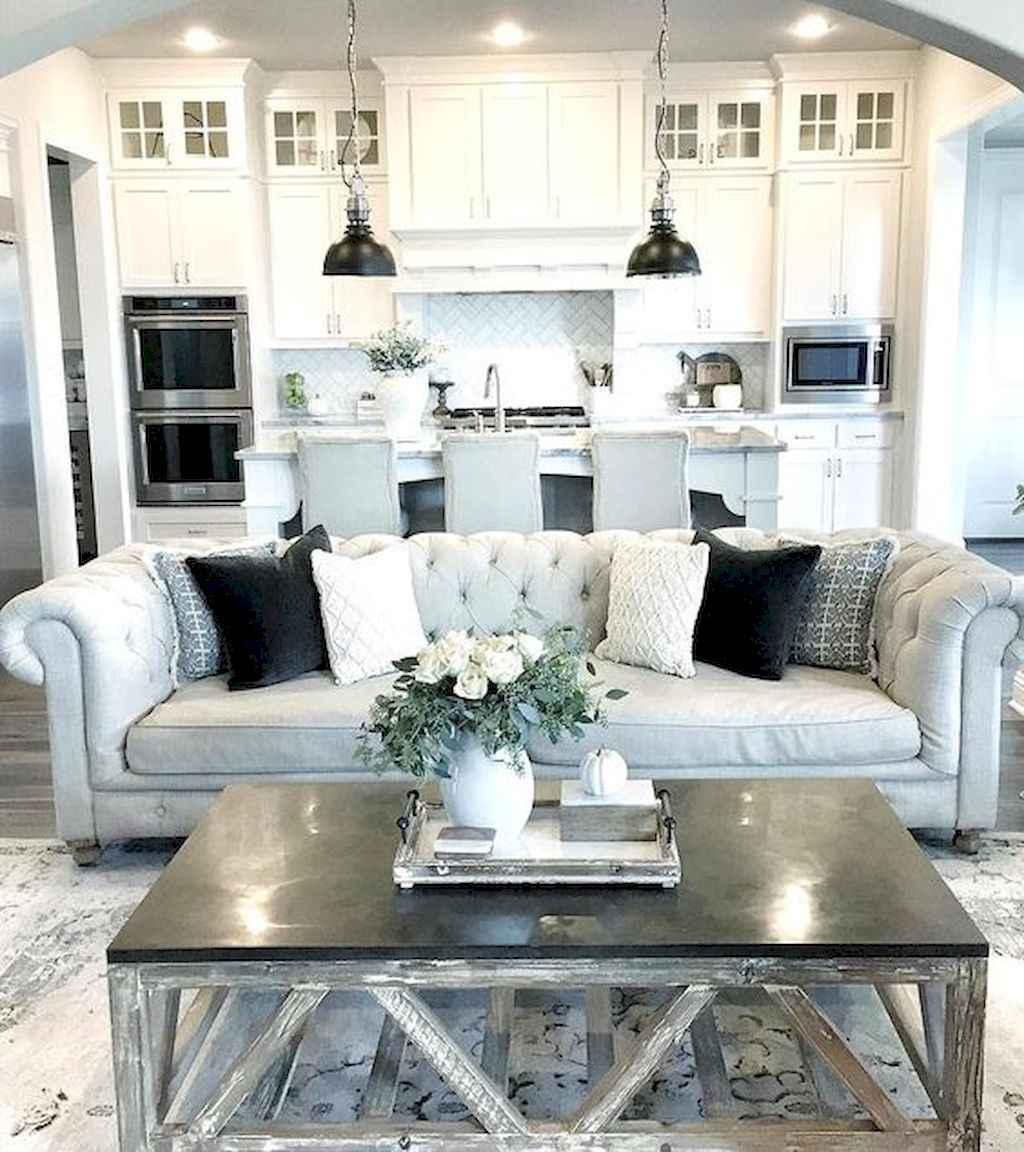 19 Cozy Modern Farmhouse Living Room Decor Ideas