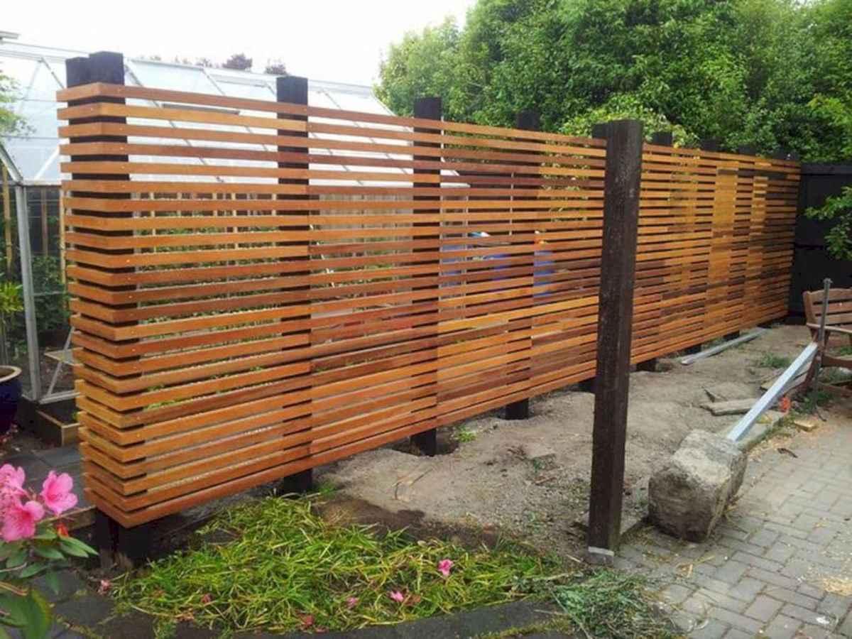 easy cheap backyard privacy fence design ideas