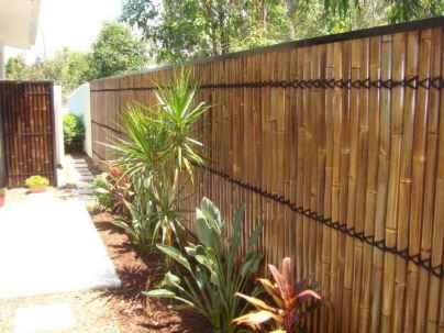 28 easy cheap backyard privacy fence design ideas