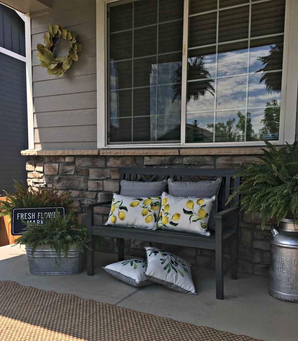 29 modern farmhouse front porch decorating ideas