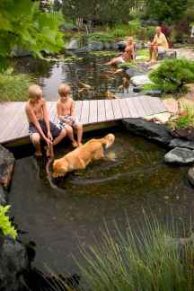 33 awesome backyard ponds and water garden landscaping ideas