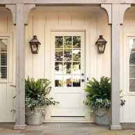 34 modern farmhouse front porch decorating ideas