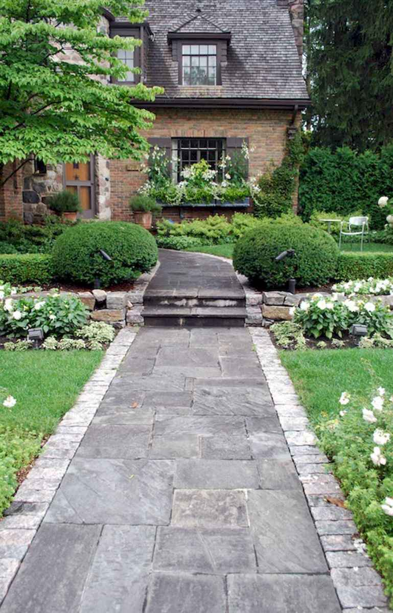 34 simple and beautiful front yard pathways landscaping ideas