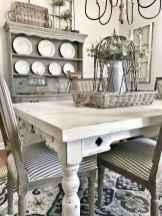 35 best farmhouse dining room makeover decor ideas