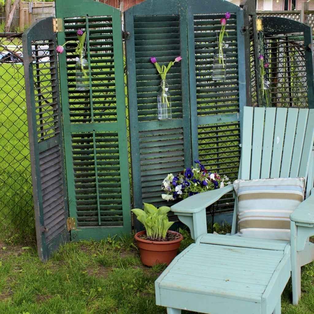 40 easy cheap backyard privacy fence design ideas