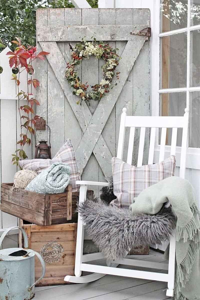 40 modern farmhouse front porch decorating ideas