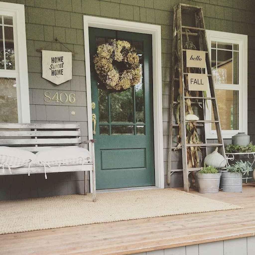 43 modern farmhouse front porch decorating ideas
