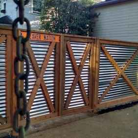 51 easy cheap backyard privacy fence design ideas
