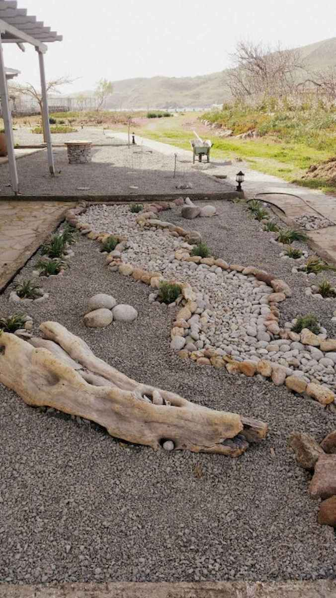 53 awesome front yard rock garden landscaping ideas