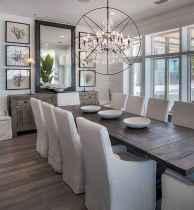 54 best farmhouse dining room makeover decor ideas