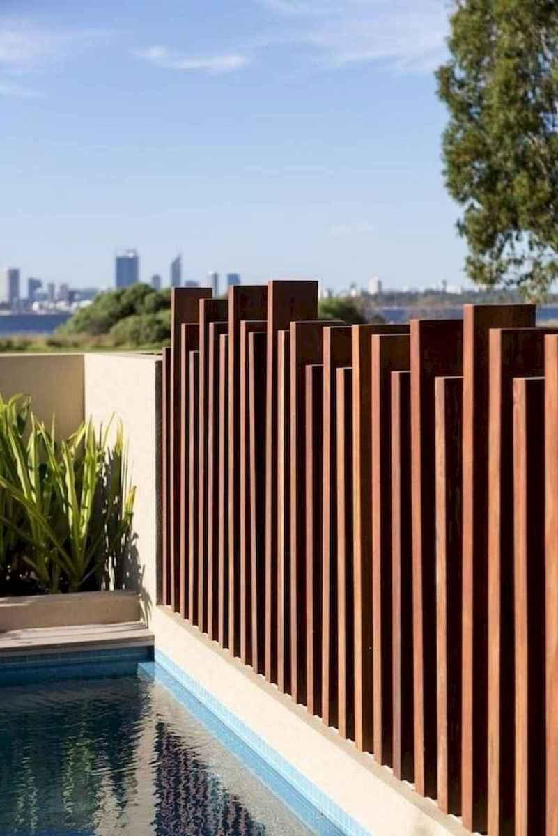 54 easy cheap backyard privacy fence design ideas