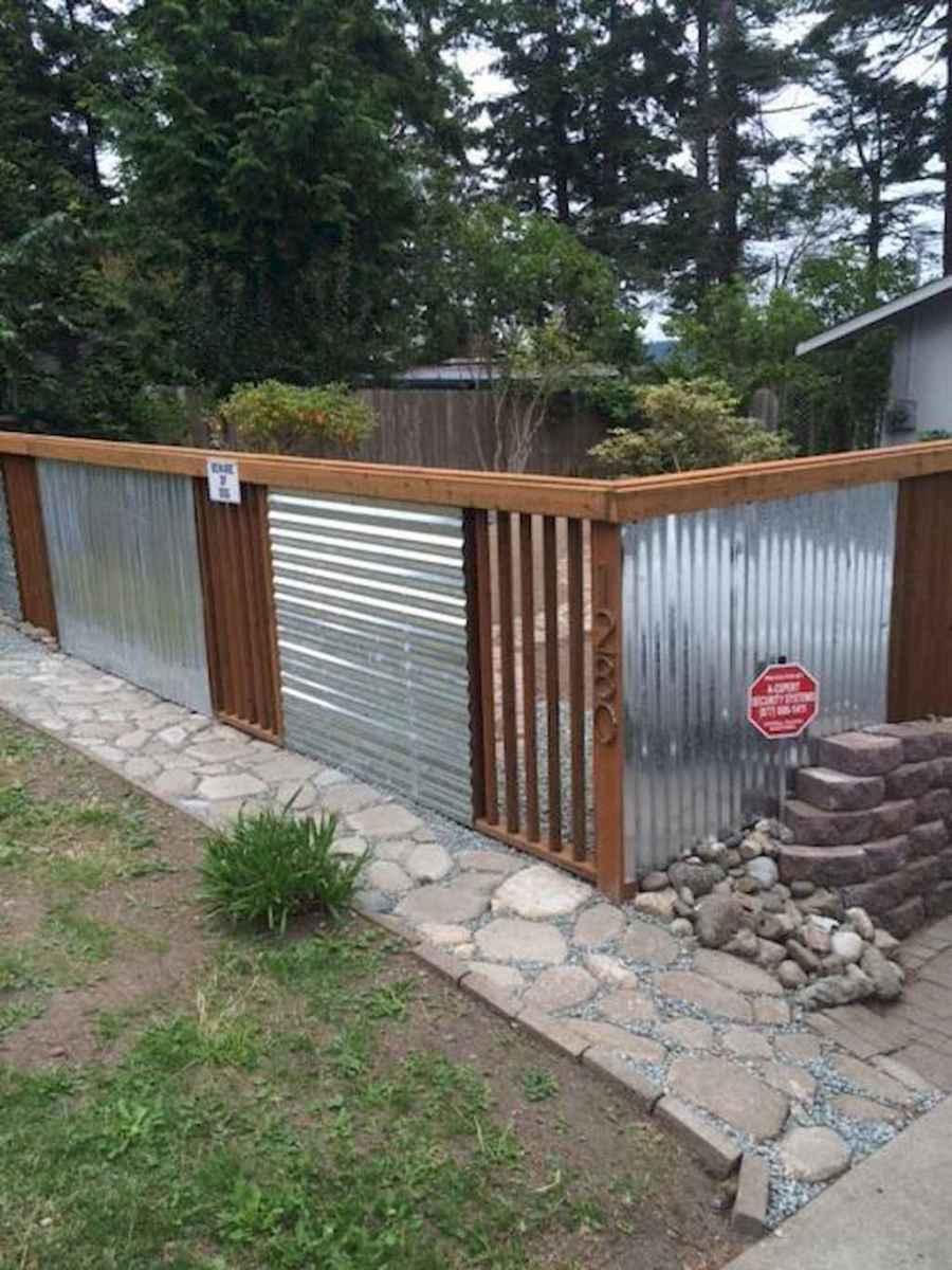 55 easy cheap backyard privacy fence design ideas