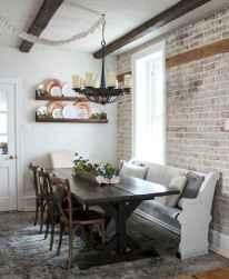 58 best farmhouse dining room makeover decor ideas