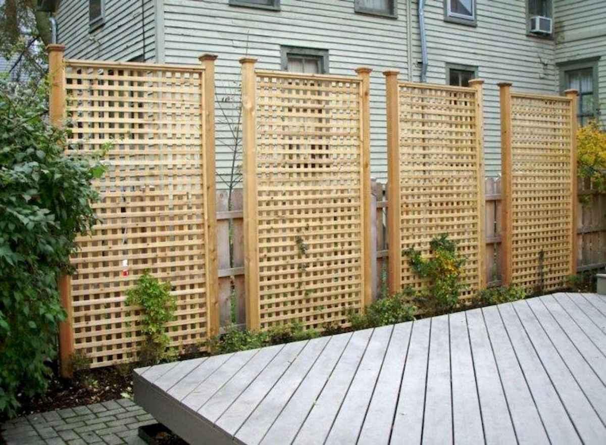 58 easy cheap backyard privacy fence design ideas