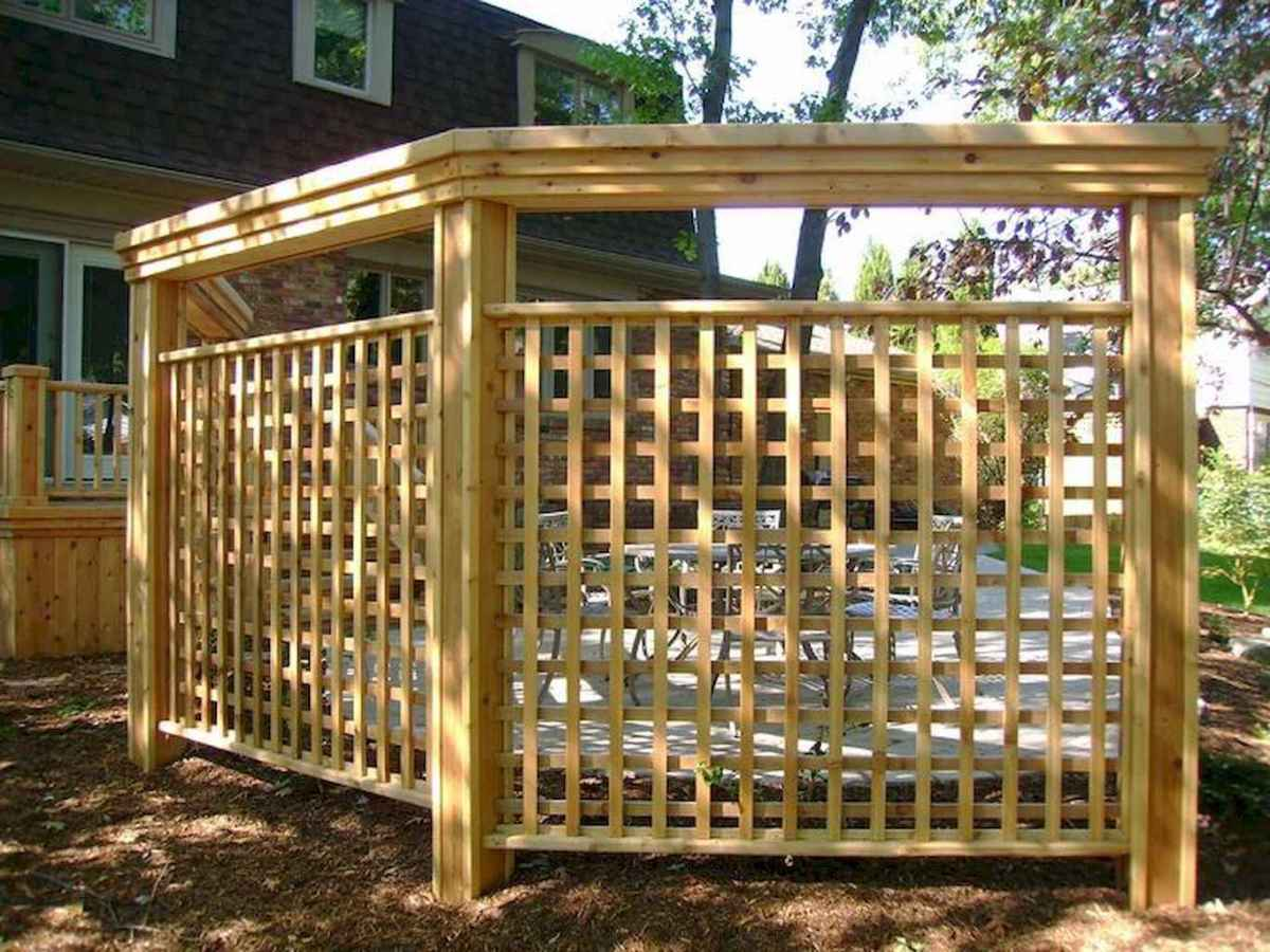 60 easy cheap backyard privacy fence design ideas