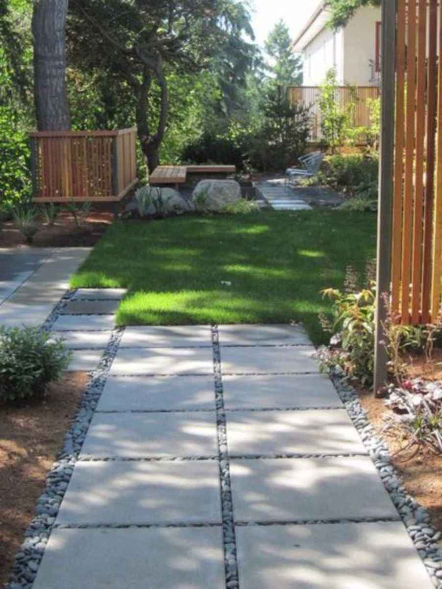 61 simple and beautiful front yard pathways landscaping ideas