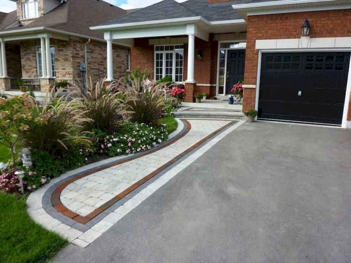 62 simple and beautiful front yard pathways landscaping ideas