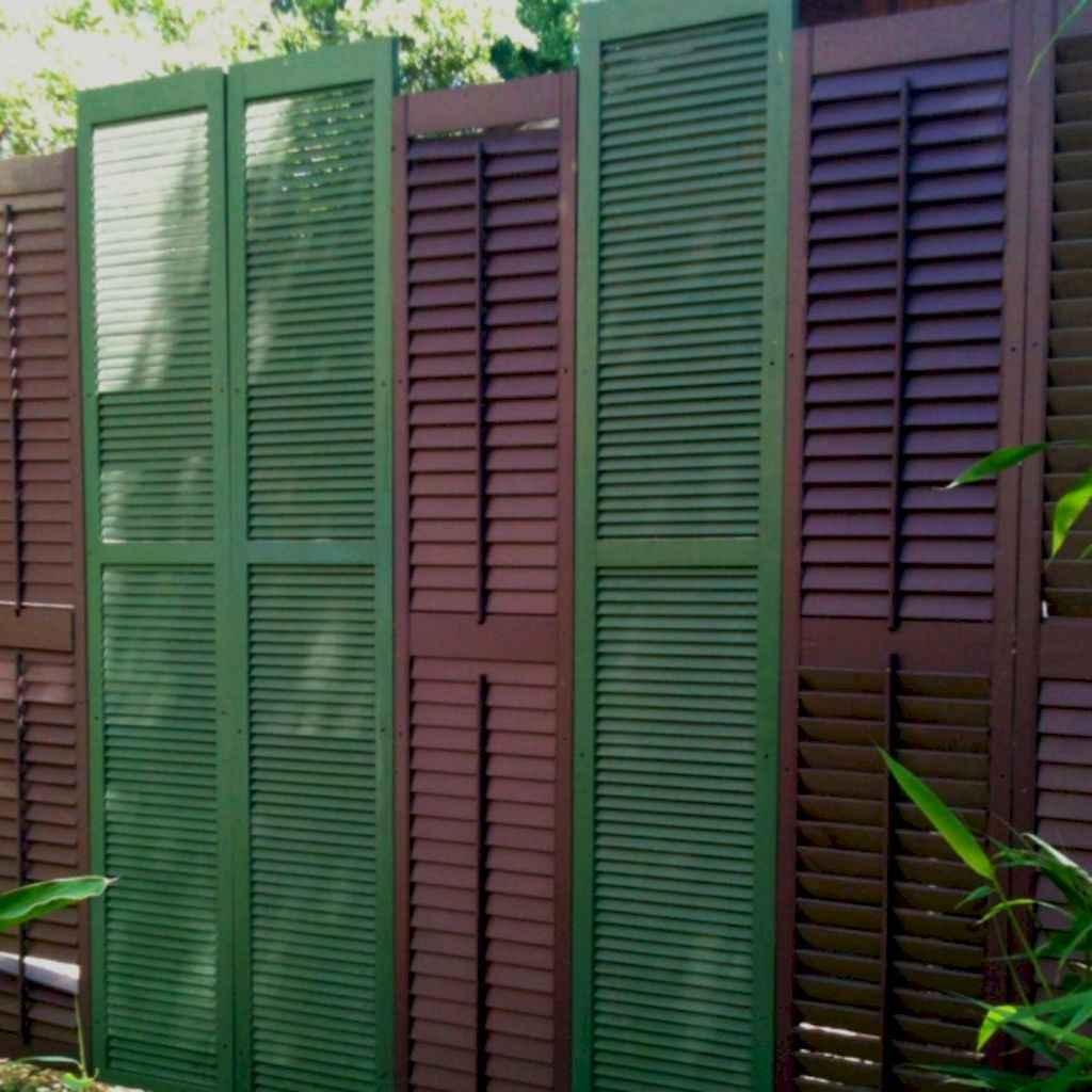 64 easy cheap backyard privacy fence design ideas