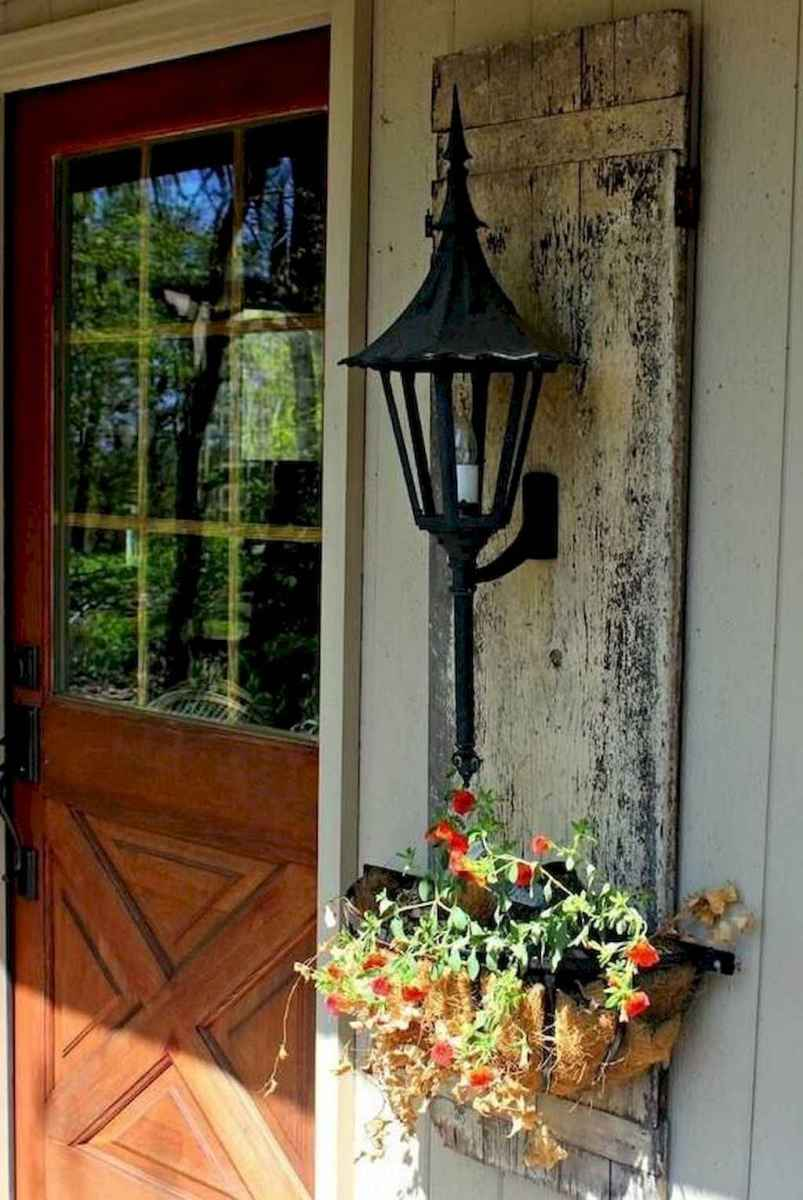 65 modern farmhouse front porch decorating ideas