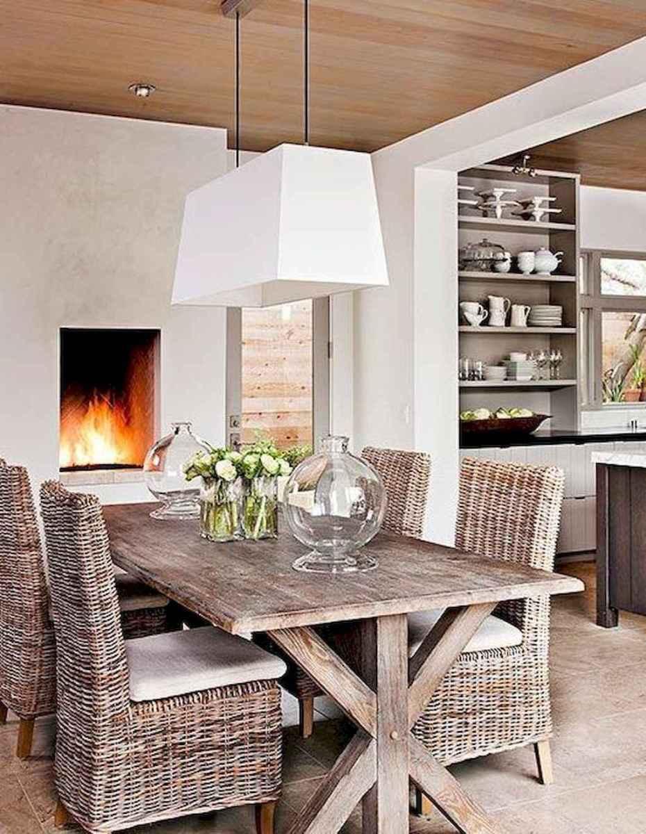 67 best farmhouse dining room makeover decor ideas
