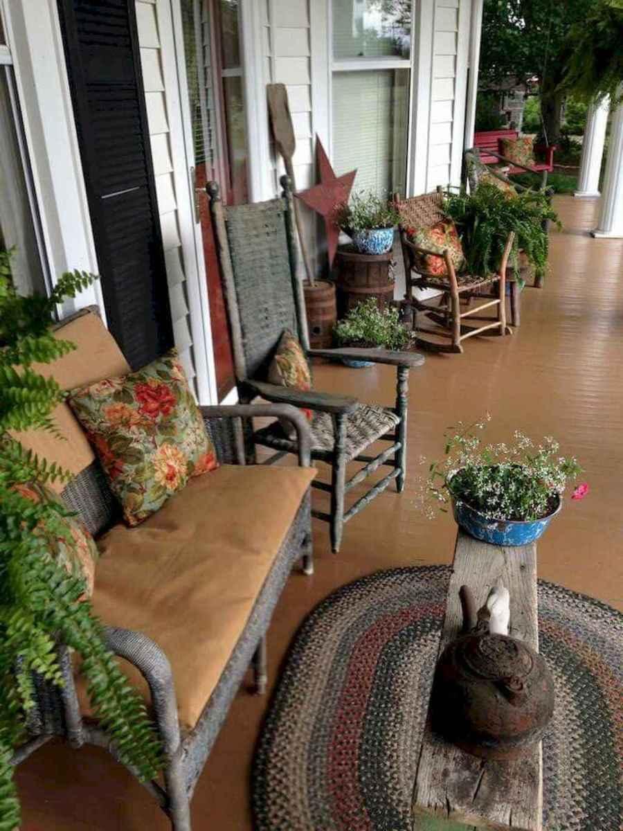 70 modern farmhouse front porch decorating ideas