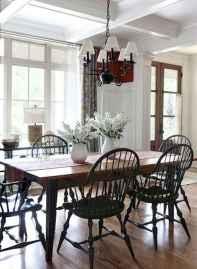 71 best farmhouse dining room makeover decor ideas
