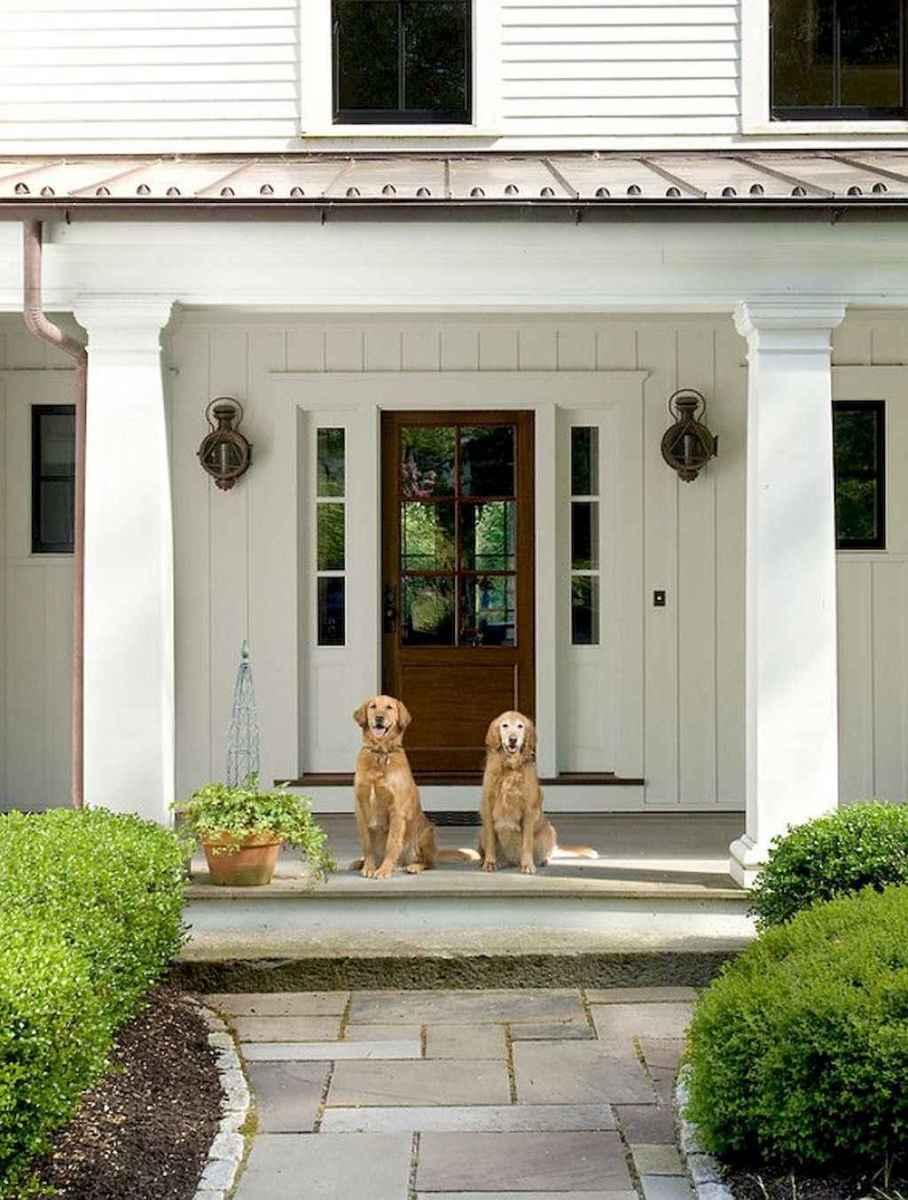 74 modern farmhouse front porch decorating ideas