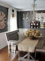 76 best farmhouse dining room makeover decor ideas