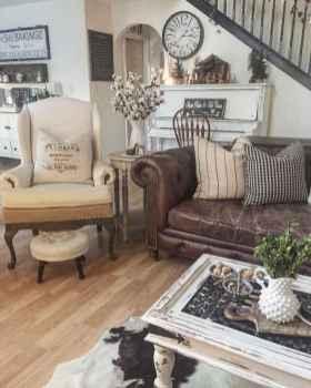 84 cozy modern farmhouse living room decor ideas