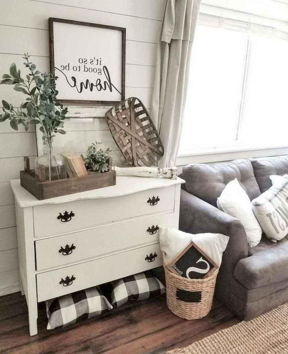 09 best modern farmhouse living room decor ideas