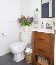 19 cool farmhouse bathroom remodel decor ideas