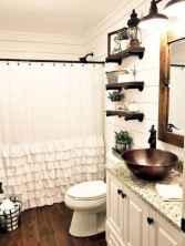 21 cool farmhouse bathroom remodel decor ideas