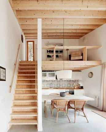34 amazing loft stair for tiny house ideas