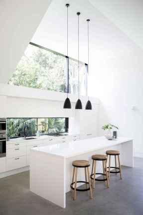 34 beautiful white kitchen cabinet design ideas